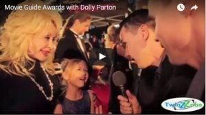 Dolly Parton at Movie Guide Awards