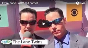 ACM Red Carpet with Lane Twins