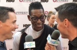 Comedian and actor Orlando Jones