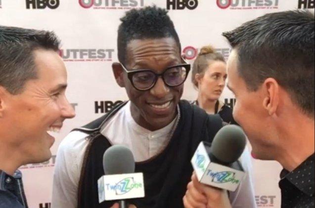 Comedian and actor Orlando Jones