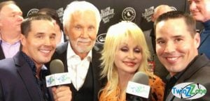 Kenny Rogers and Dolly Parton