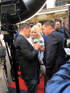 Dolly Parton at Golden Globes