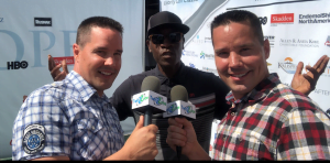 Don Cheadle at George Lopez Charity Golf Tournament